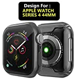 Market Affairs Soft Flexible TPU Protective Case Cover Compatible with Apple Watch 44mm