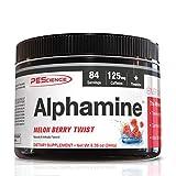 Pescience Alphamine, Melon Berry, Energy Powder, 84 Serving
