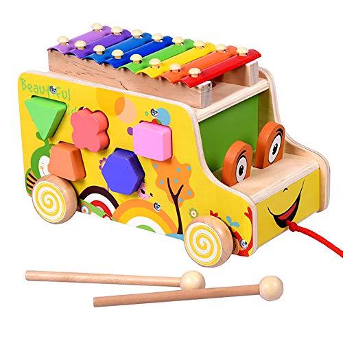 JW-YZWJ Établissement d'enseignement Blocs Jouets pour Enfants 0-2-3 Ans bébé Early Education Jouets éducatifs Forme adaptée