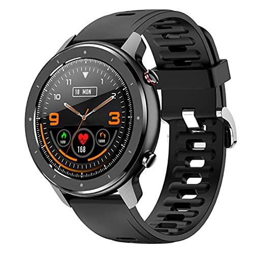 Smart Watch Pantalla Táctil Completa DT78 Pro 1.3 Pulgadas Pedómetro De Rueda Completa De 1,3 Pulgadas Monitor De Ritmo Cardíaco para Hombre Pulsera F12 Mulsón Adecuado M4,B