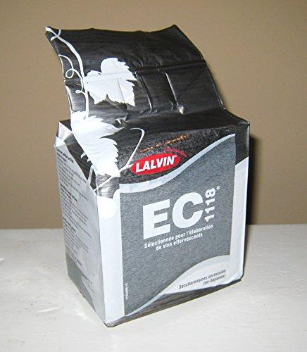 WINE YEAST EC-1118 500g BULK PACK FOR HIGH ALCOHOL FERMENTATIONS