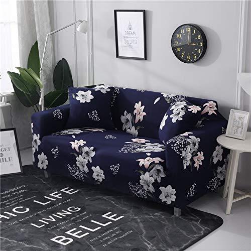 WXQY Fundas de sofá elásticas para Sala de Estar Funda de sofá Todo Incluido Estiramiento Protector de Muebles Fundas Sillones Fundas de sofá A2 3 plazas