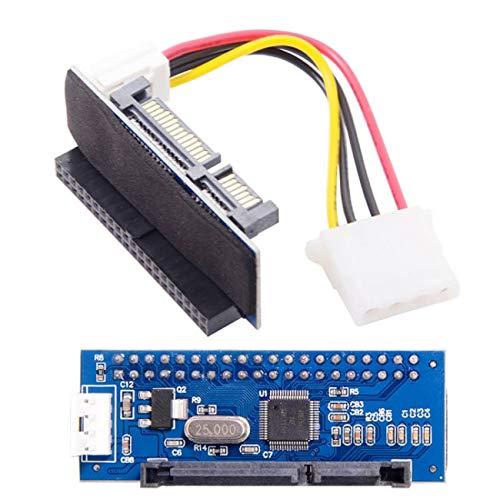 Cablecc IDE/PATA - Adaptador conversor de disco a SATA hembra de 40 pines PCBA para escritorio y disco duro de 3,5'