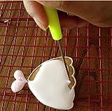 [page_title]-6Anreißnadel Nadel Modellierwerkzeug Markieren Muster Puderzucker Kuchen dekorieren, zufällige Farbe von aixin