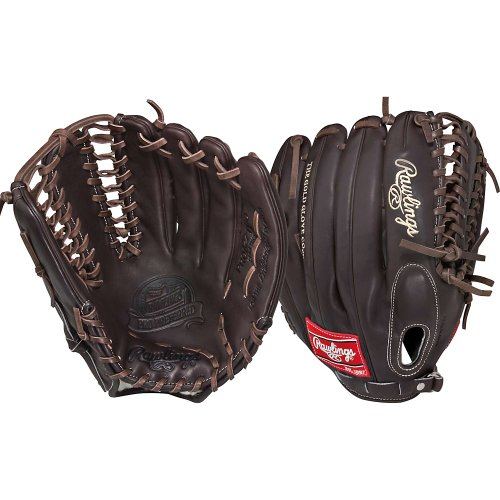 Rawlings Sporting Goods Rawlings Pro Preferred Outfielder Baseball Gloves Pros27tmo Trapeze 12 3/4 Inch Left Mocha 12 3/4 Inch