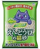 クリーンケア えんどう豆の猫砂 6L
