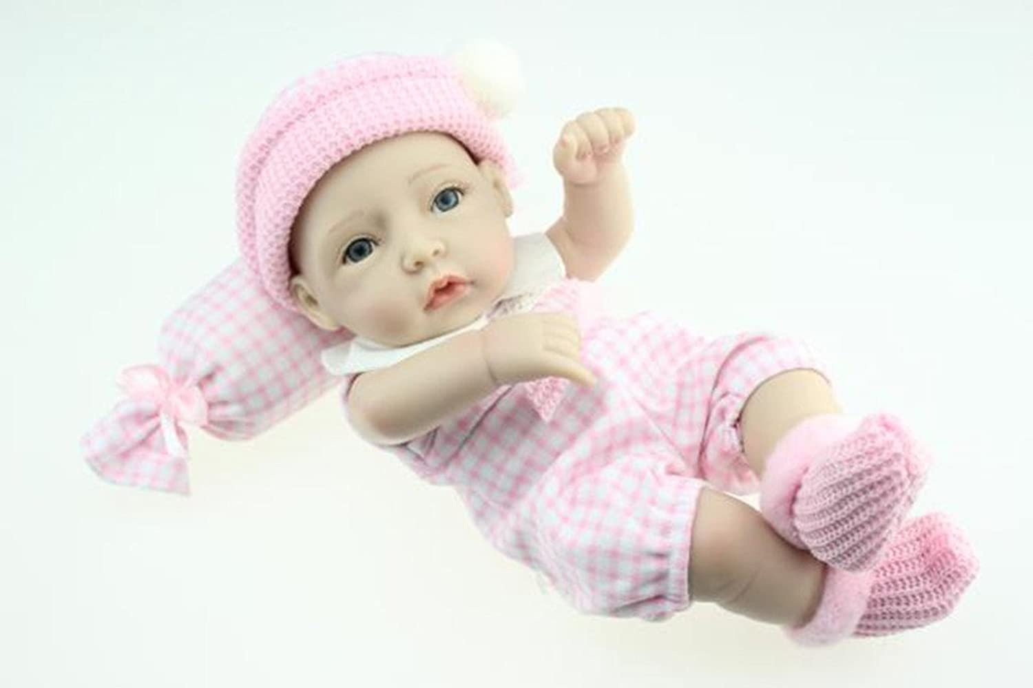 TERABITHIA Mini 11  Real Life Beautiful Dreamer Newborn Baby Doll Full Silicone Vinyl Collectible Toys for Girl