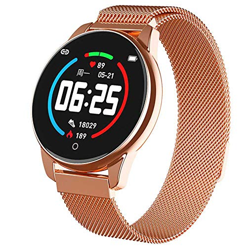 YANGPANGZI Smart bracelet sleep monitoring heart rate blood pressure exercise meter step bracelet caller information reminder waterproof