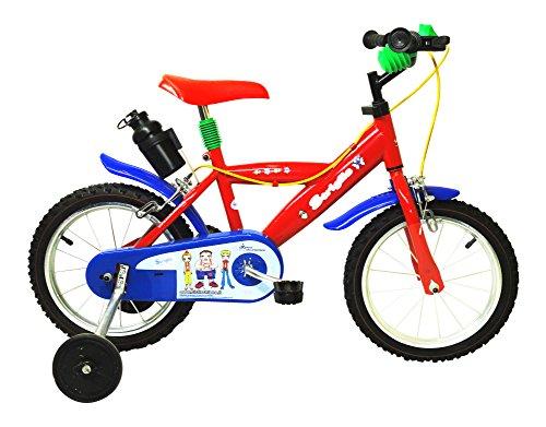 F.lli Schiano Nylon Bicicletta, Bambino, Rosso, 14 Pollici