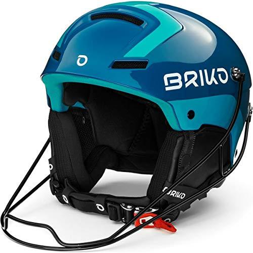 Briko Slalom Casque de Ski/Snow, Adulte, Unisexe, SHI Blue Light Blue, Medium