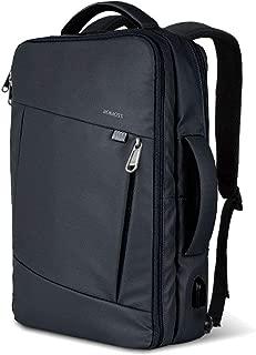 ビジネス リュック バッグ 3WAY メンズ ROMOSS USB 充電ポート PCパソコン バックパック レディース 通勤 出張 多機能 防水 黒