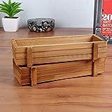 Caja rectangular de palets de madera