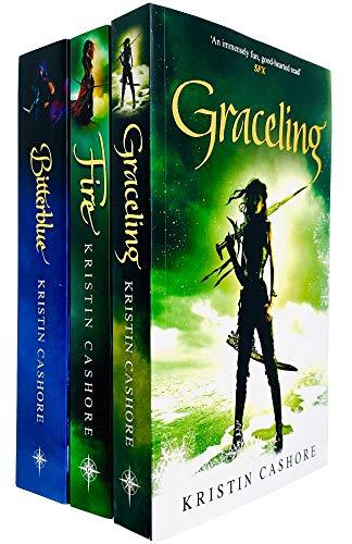 Price comparison product image Graceling Realm Series 3 Books Complete Collection Set by Kristin Cashore (Graceling