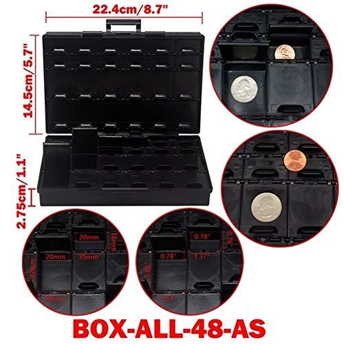 Gereedschapskist Opbergdoos Plastic Case Surface Mount Weerstanden Condensatoren Goed Klein vak Kleine Organizer Toolbox BOX STORAG toolbox Box All 48