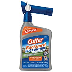 KILLS FAST: Kills mosquitoes, listed ant types, fleas and other listed insects QUICKFLIP HOSE-END SPRAYER: Hose-end-sprayer activates spray at the flip of a switch – just grip, flip and go LASTS ALL SUMMER: Controls up to 12 weeks against house crick...
