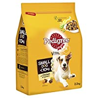 100% complete and balanced, tasty Dry dog food for small dogs Nutrition for small dogs that helps support oral care, good digestion, a healthy skin & coat and strong natural defenses Tasty dry dog food with smaller kibbles, easier to chew and enjoy f...