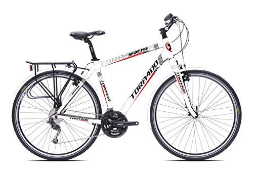 TORPADO Bici sportage 28'' 3x7v Alu Taglia 48 Bianco v17 (Trekking) / Bicycle sportage 28'' 3x7s Alu Size 48 White v17 (Trekking)