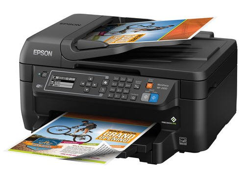 Epson Workforce WF-2650 All-in-One Wireless Color Printer with Scanner, Copier and Fax