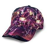 Gorra de béisbol impresa lindo retro ajustable niños papá sombrero señoras sombrero sombra negro hip hop algodón ajustable al aire libre protector solar destaca la forma de la cara