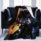 Prince 'Purple Rain' Ultra-Soft Micro Fleece Blanket