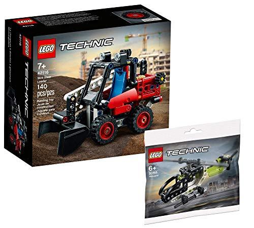 Collectix Lego Set – Lego Technic 42116 + helicóptero Lego Technic 30465 (bolsa de plástico)