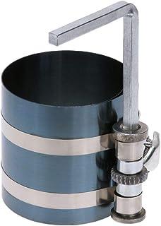 SNOWINSPRING 4 Zoll 53 175 mm Stahl Auto Motor Kolben Ring Kompressor Werkzeug Montage mit Ratschen Gurt L F?rmiger Innen Sechskant Schlüssel