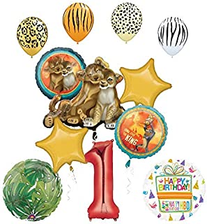 Best lion king 1st birthday party supplies Reviews