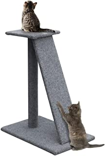 i.Pet Cat Tree 82cm Trees Scratching Post Scratcher Tower Condo House Furniture Wood Slide Includes scratching, perching, ...