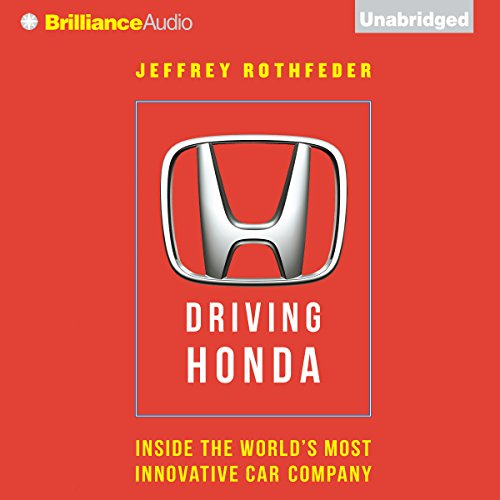 Driving Honda audiobook cover art