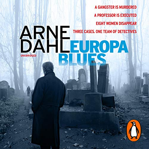 Europa Blues audiobook cover art