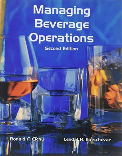 Managing Beverage Operations