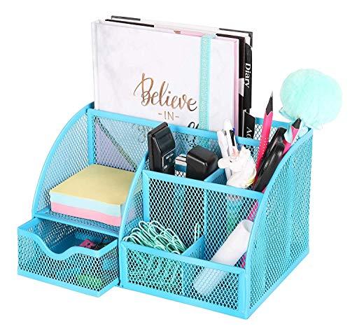 Depory Tisch-Organizer/Schreibtisch Organisator/Schreibtisch Tidy/Stifthalter/Multifunktions -Organisator Rosa