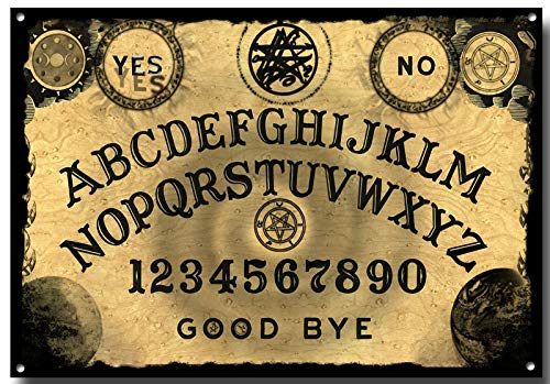 in budget affordable Retro vintage fashion wall decoration, not metal tin sign of brand Ouija board