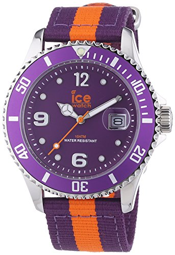 Ice-Watch Unisex-Armbanduhr Polo Analog Quarz Textil PO.POE.U.N.14