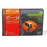 50gr Fantasia Herbal Hookah Shisha Molasses Sheesha Dragon's Breath Flavor