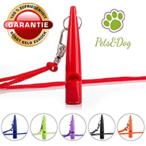 Pets&Dog Sifflet pour Chien | Carnaval | Éducation pour Chiot | Sifflet pour Chien | Formation de Chien | Sifflet | Agility