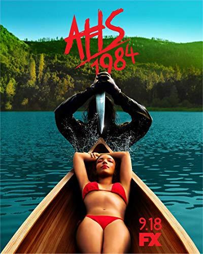 24inch x 30inch/60cm x 75cm American Horror Story 1984 Season 9 Silk Poster