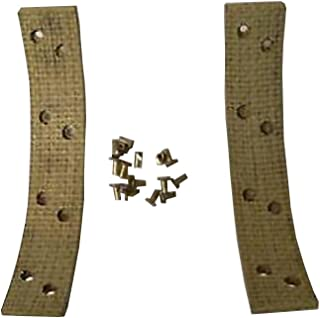 New Aftermarket Case Backhoe Brake Band Lining Kit 430-580B-C (2 Piece)