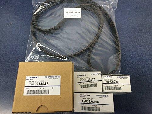 Genuine OEM Subaru Timing Belt & TENSIONER KIT Forester Impreza SOHC 2.5 1999-2005