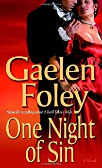 One Night of Sin: A Novel (Knight Miscellany Book 6) by [Gaelen Foley]
