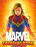 Marvel Coloring Book: A Fabulous Coloring Book For Fans of All Ages With Several Images Of Marvel. One Of The Best Ways To Relax And Enjoy Coloring Fun.