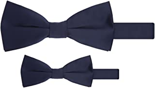 Matching Father Son Men's Boy's Bow Tie Set