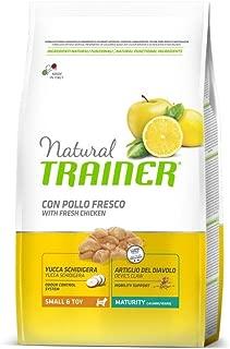 7kg Multicolore Trainer Natural Small Puppy Junior Cibo Secco per Cani Unica