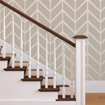 herringbone stencil patterns