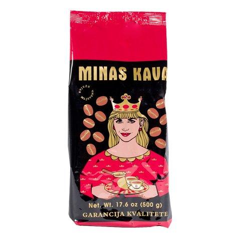 Ground Coffee, Minas Gold Kava, 500g, (UPC 73342601141) Red Shirt