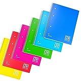 Quaderno spiralato ppl A5 One Color Blasetti conf. 6 pz