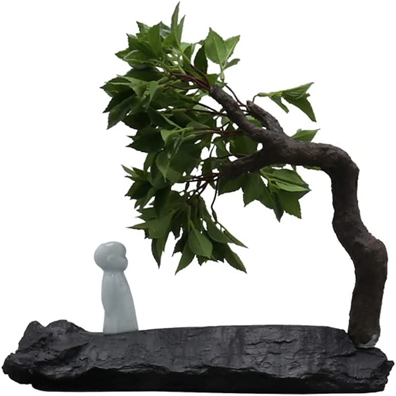 zxb-shop Simulation Tree Creative Pine Ceramic Figure New product type Online limited product
