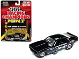 Racing Champions 1973 Plymouth Cuda Funny Car The Snake III Don Prudhomme Black Limited Edition to 3,200 Pieces Worldwide 1/64 Diecast Model Car