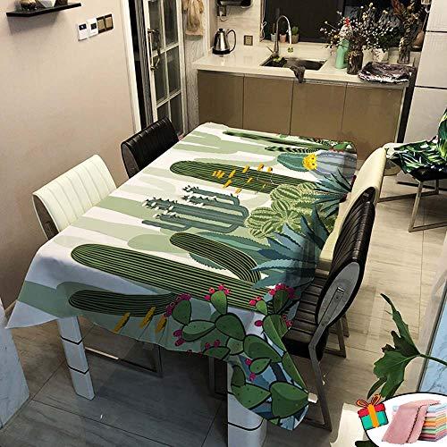 Morbuy Nappe Imperméable Rectangulaire,Carrée Anti Tâche Étanche à l'huile Lavable Couverture de Table 3D Imprimé pour Ménage Cuisine Jardin Exterieur Décoration (Jaunes Fleurs,100x140cm)