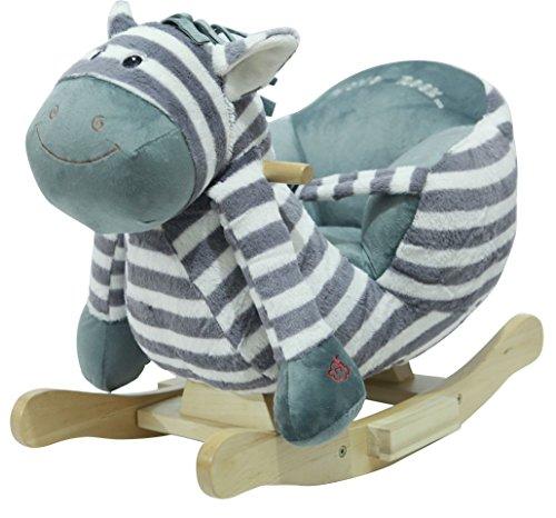 Sweety Toys 4812 Schaukeltier Schaukelpferd Zebra